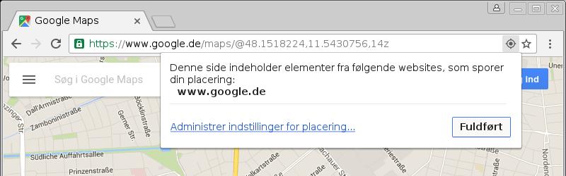 Google Chromes hvidbog om beskyttelse af personlige oplysninger