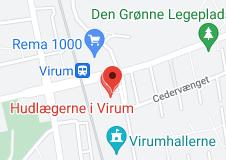 Kort over Lægerne Geels Plads