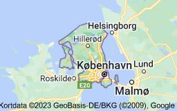 Kort over Region Hovedstaden