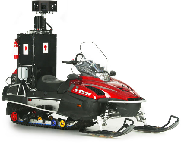 Device snowmobile